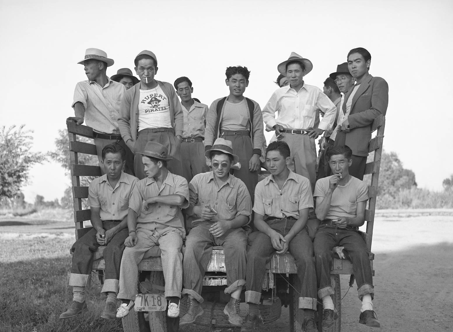 Japanese Americans farm workers
