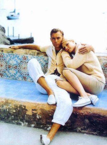Jude Law & Gwyneth Paltrow in The talented Mr Ripley