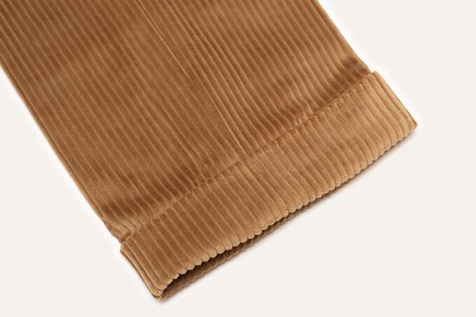 bas revers pantalon beige athi editions